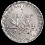1 francs semeuse