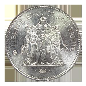 50-Francs-Hercule-Argent-Pieces-Francaises-Avers