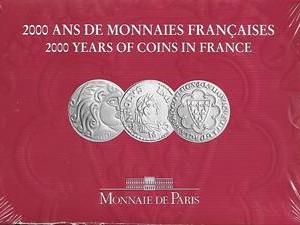 2000 ANS DE MONNAIES FRANCAISES 1