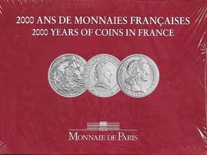 2000 ANS DE MONNAIES FRANCAISES  2