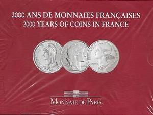 2000 ANS DE MONNAIES FRANCAISES  3