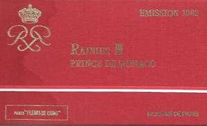 FDC MONACO 1982