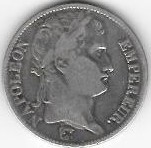 5 FRANCS NAPOLEON EMPEREUR 1811 A