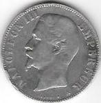 5 FRANCS 1855 NAP III