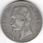 5 FRANCS NAP III 1855 A