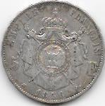 5 FRANCS NAP III 1856 BB